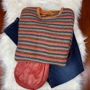 BDG UO Multicolor Striped Wool Blend Sweater